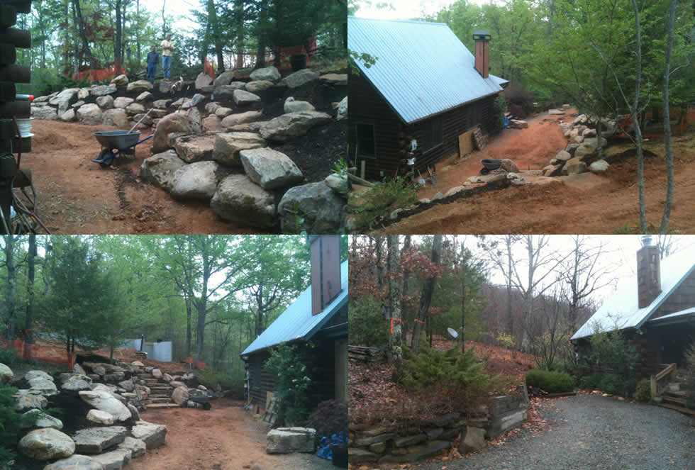 Landscape Boulders Georgia : Mountain gardens mcgill fleming landscapes